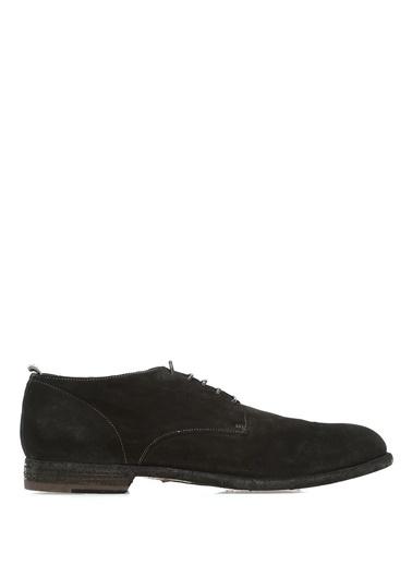 Officine Creative %100 Deri Bağcıklı Ayakkabı Siyah